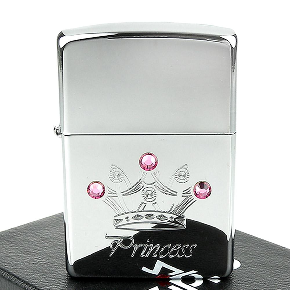【ZIPPO】美系~Princess Crown-施華洛世奇水晶貼飾打火機