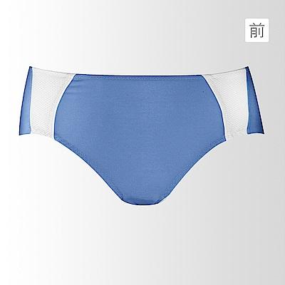 黛安芬-動生活運動系列平口內褲-M-EL-躍動藍