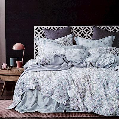 Lily Royal 60支頂級天絲 六件式兩用被床罩組 雙人 特麗斯