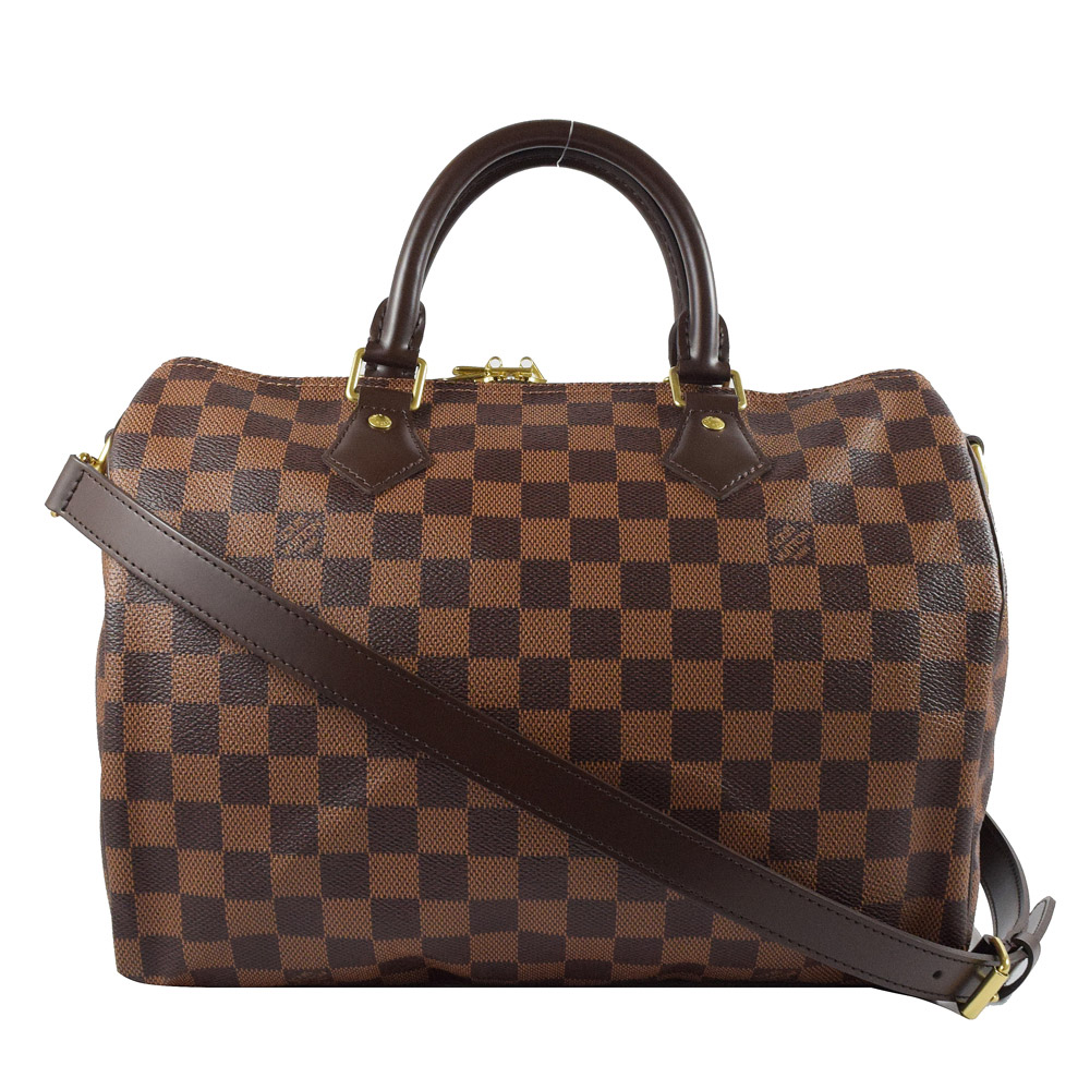 Louis Vuitton LV N41367 Speedy 30 棋盤格紋