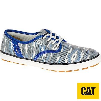 CAT FRAY 繽紛休閒女鞋-藍(308506)