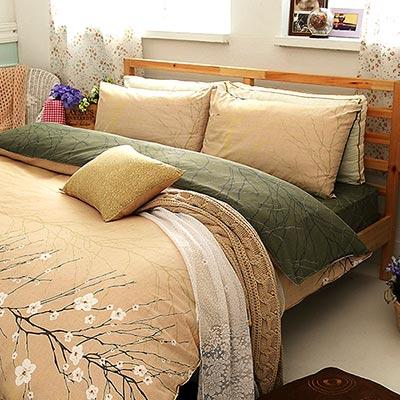 Goelia  戀歌 精梳純棉單人鋪棉兩用被套床包三件組