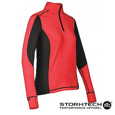 【加拿大STORMTECH】PL-4W女子慢跑者吸排快乾恆溫上衣-紅