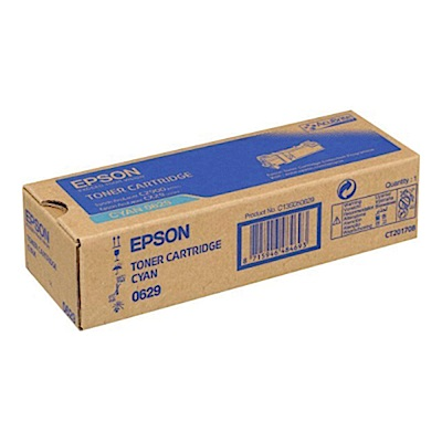 EPSON C13S050629 藍色碳粉匣