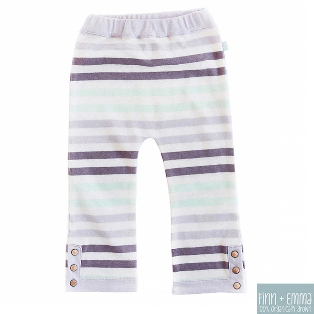 Finn + Emma 有機棉 Stripe款女寶寶長褲