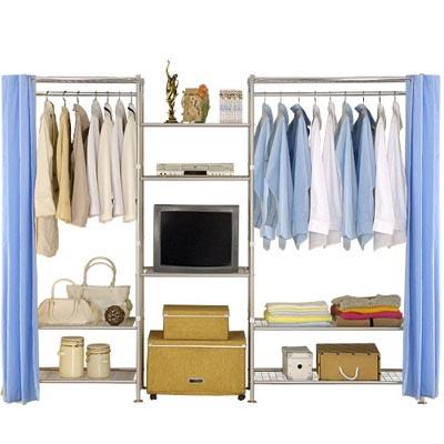 巴塞隆納-W3型60+60+90置物/衣櫥收納架
