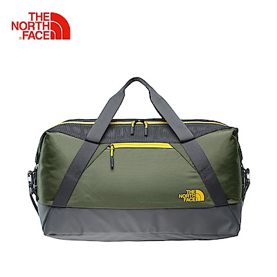 The North Face北面軍綠色便捷戶外運動包包
