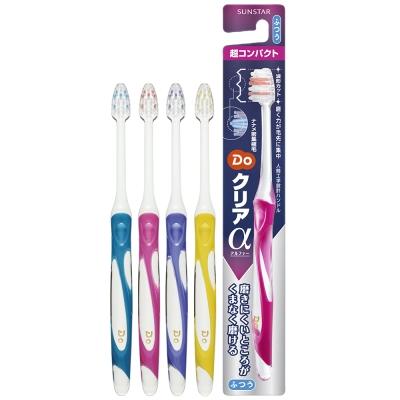 三詩達 DO波浪型超潔淨牙刷1支-中性毛(顏色隨機)