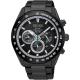 SEIKO精工 Criteria 太陽能限定計時手錶(SSC591P1)-鍍黑/43mm product thumbnail 1
