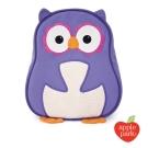 美國 Apple Park 兒童造型背包 - 紫色貓頭鷹