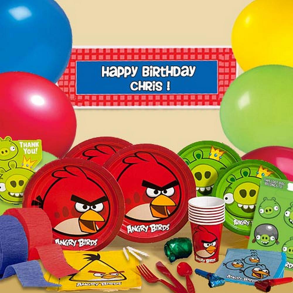 派對盒 PartyBox 生日派對懶人包 憤怒鳥主題 8人豪華派對盒