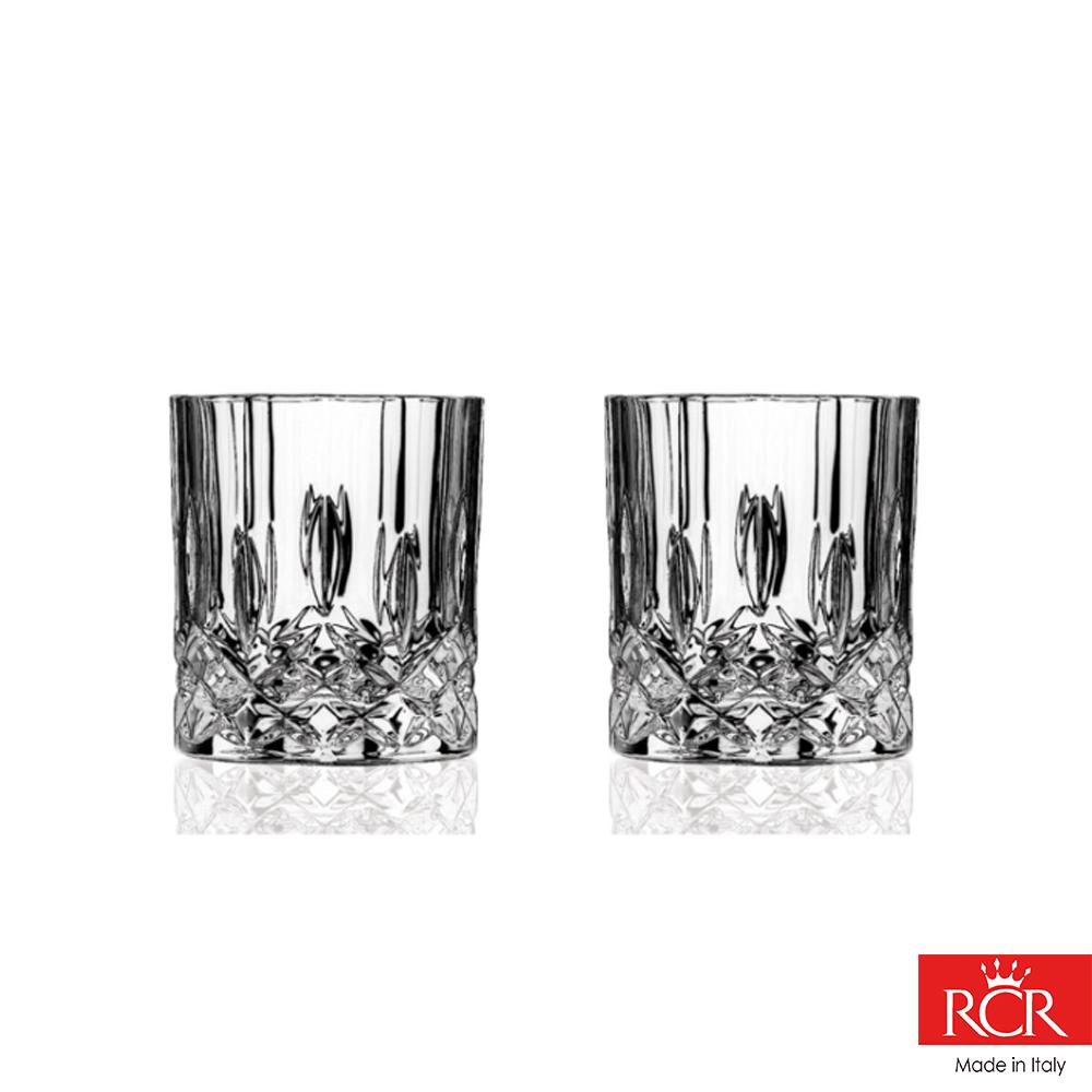 義大利RCR歐普拉 無鉛水晶威士忌杯 (2入)210cc
