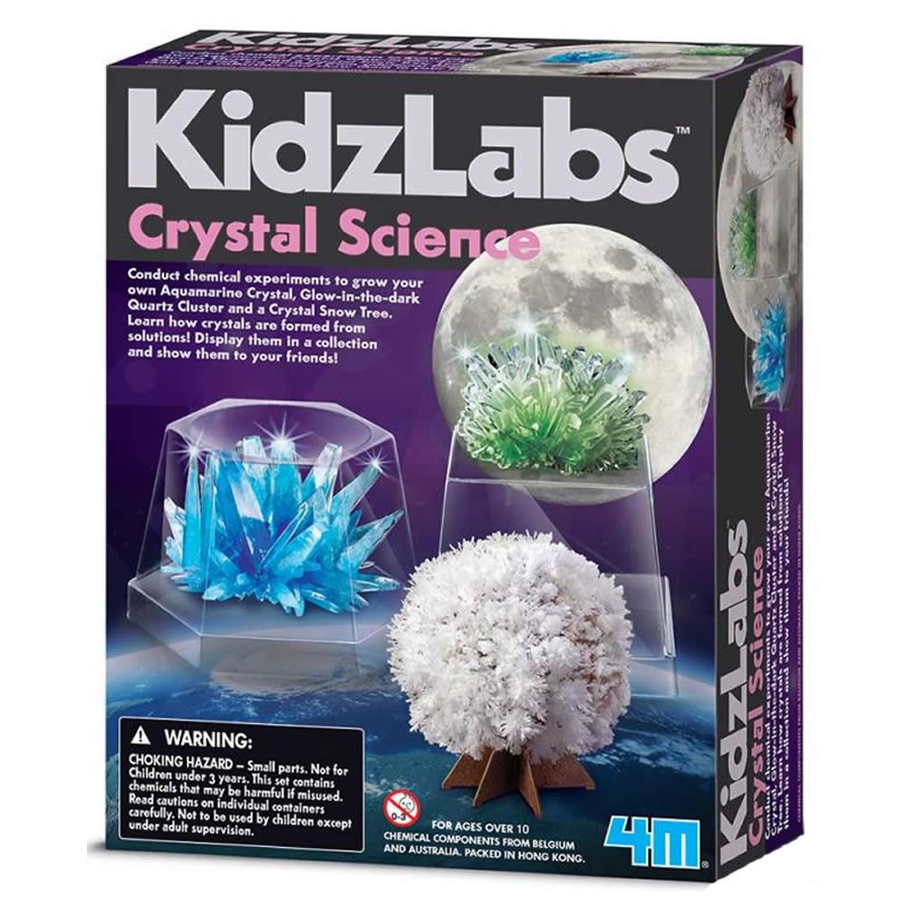 4M科學探索 - 神奇水晶科學