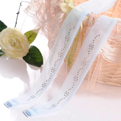Aimee-Toff-氣質小花柔美搭配造型肩帶-藍