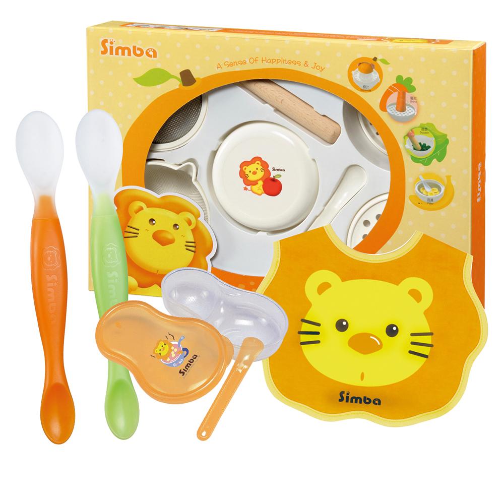 小獅王辛巴 副食品輕鬆備超值四件組
