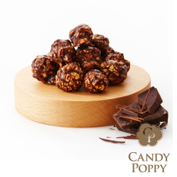 Candypoppy 裹糖爆米花-黑金巧克力(70g)