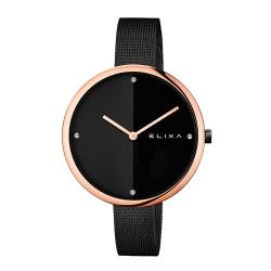 ELIXA Beauty時尚雙色錶盤米蘭帶系列 時尚