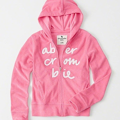 AF a&f Abercrombie & Fitch 外套 粉紅色 0535