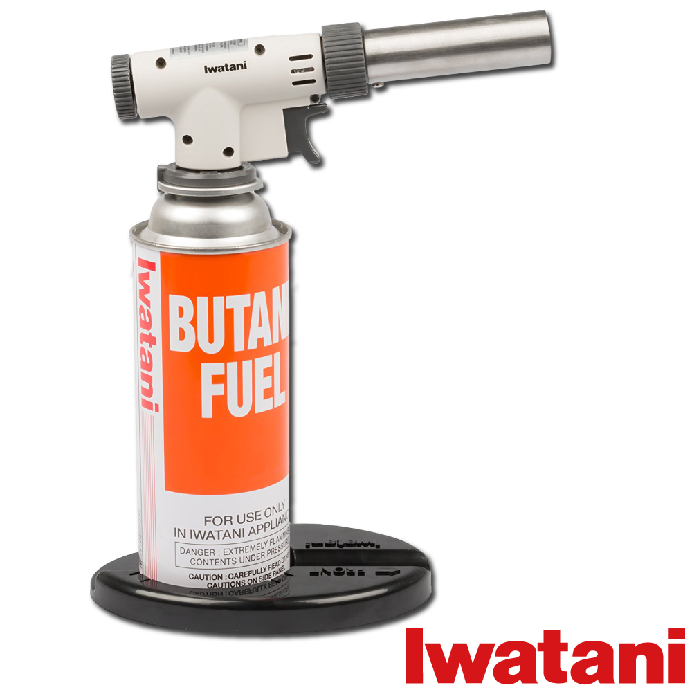 日本Iwatani岩谷高火力二段式瓦斯噴槍(附座)-日本製造