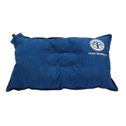 Tree Walker 舒眠植絨充氣枕 藍色