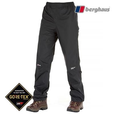 【Berghaus貝豪斯】女款GT輕量防水透氣長褲S07F87黑