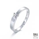 點睛品 Promessa 愛情誓約 0.08克拉鑽石戒指-女戒