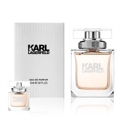 KARL LAGERFELD 卡爾同名時尚女性淡香精85ml(贈隨機小香乙瓶)