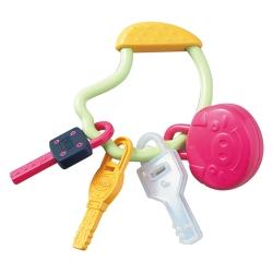 日本People-五感刺激鑰匙圈玩具(1Y5m+)