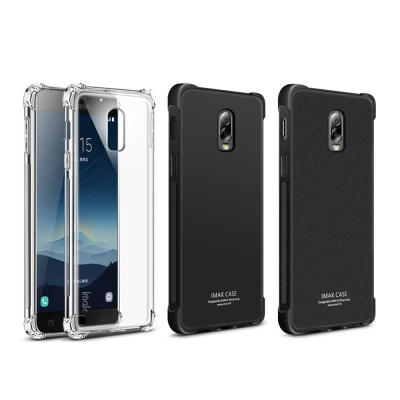 Imak SAMSUNG Galaxy J7+ 全包防摔套(氣囊)