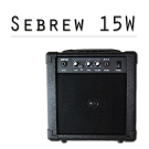 Sebrew希伯萊 15瓦音箱,可接 電吉他、麥克風、音源線、電木吉他、耳機,喇叭/音響
