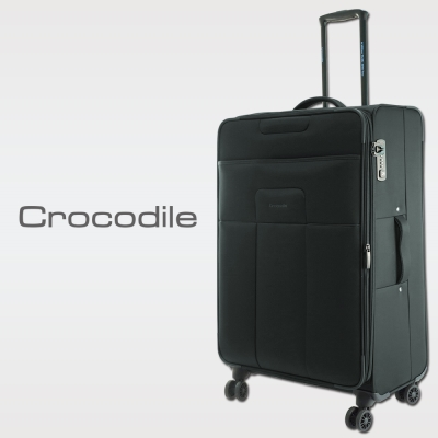 Crocodile Superlight系列旅行箱-夜暮灰-24吋0111-6524-07