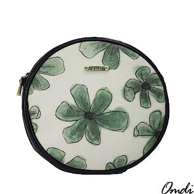 OMDI 花朵印花小圓肩包(綠色)