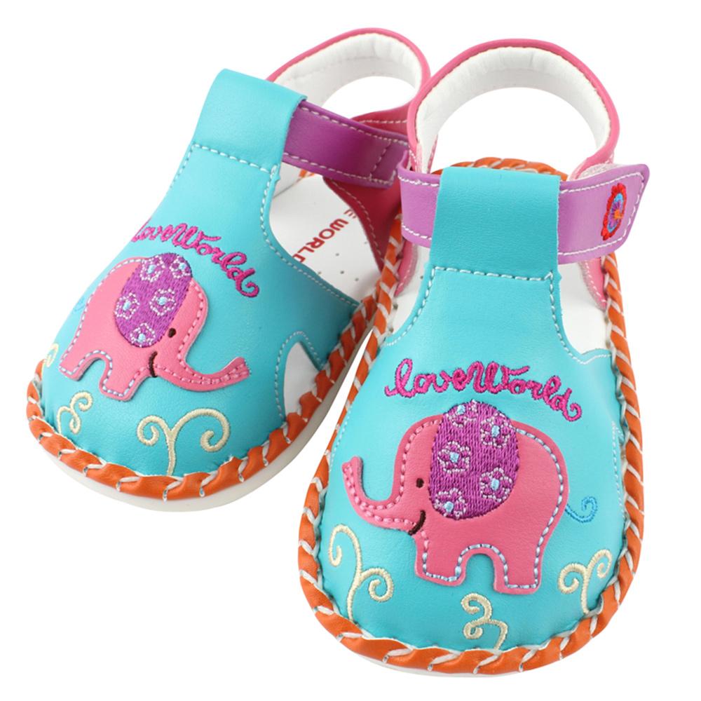 愛的世界 東方小旅行寶寶鞋/學步鞋 -台灣製-