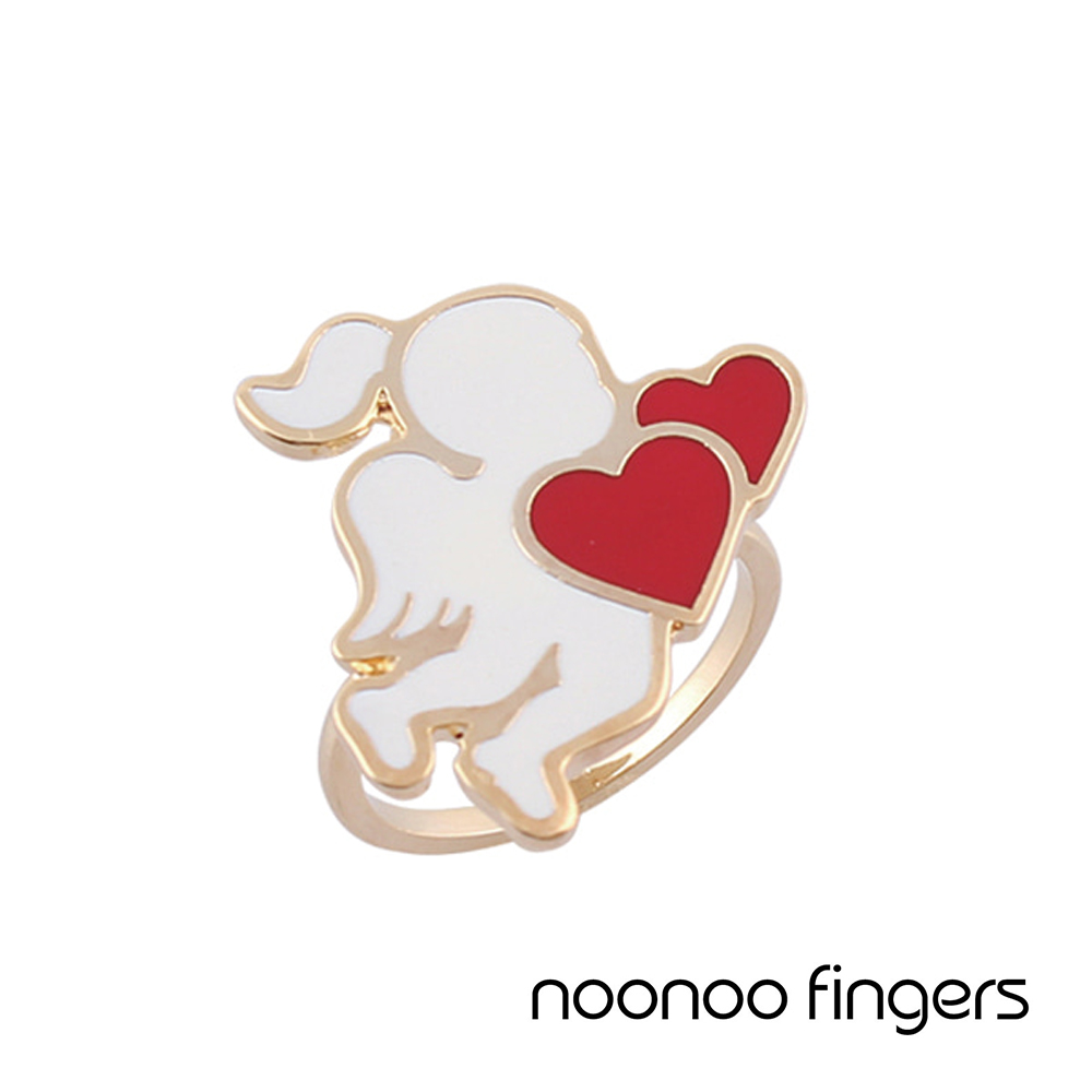 Noonoo Fingers AC  Angel Ring  天使 愛心 戒指