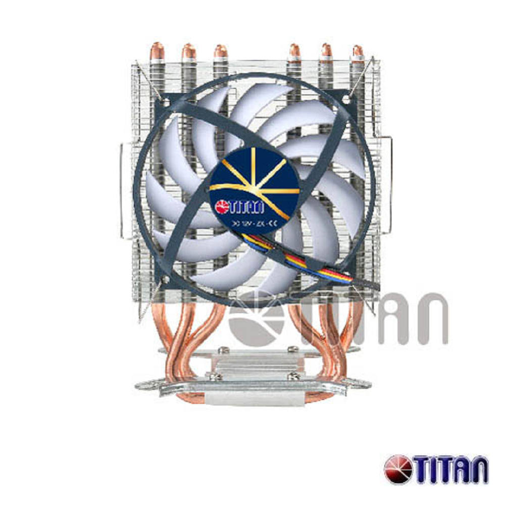 TITAN Dragonfly 3三熱管CPU散熱器  TTC-NC85TZ(RB)