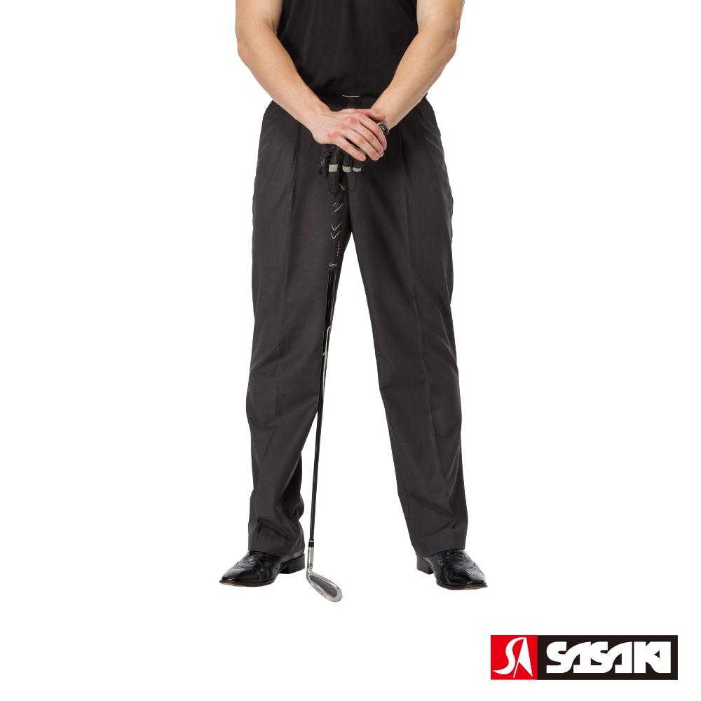 SASAKI 高爾夫球休閒長褲-男-丈青