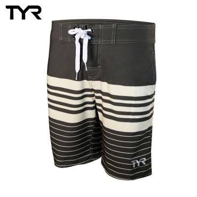 美國TYR男款彈性海灘泳褲Boardshort Wild Dove