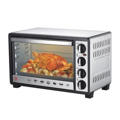 晶工牌30L雙溫控不鏽鋼旋風烤箱-JK-7300