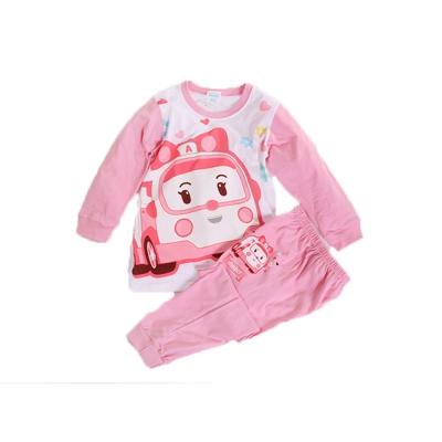 POLI純棉防蚊布套裝 粉 k60242