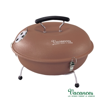 【日本 VACANCES】野餐度假 BBQ 輕量 咖啡 馬卡龍造型烤肉爐  / 烤肉 烤箱