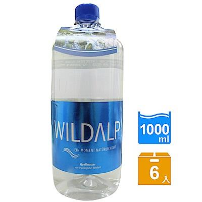 WILDALP 奧地利天然礦泉水( 1000 mlx 6 瓶)