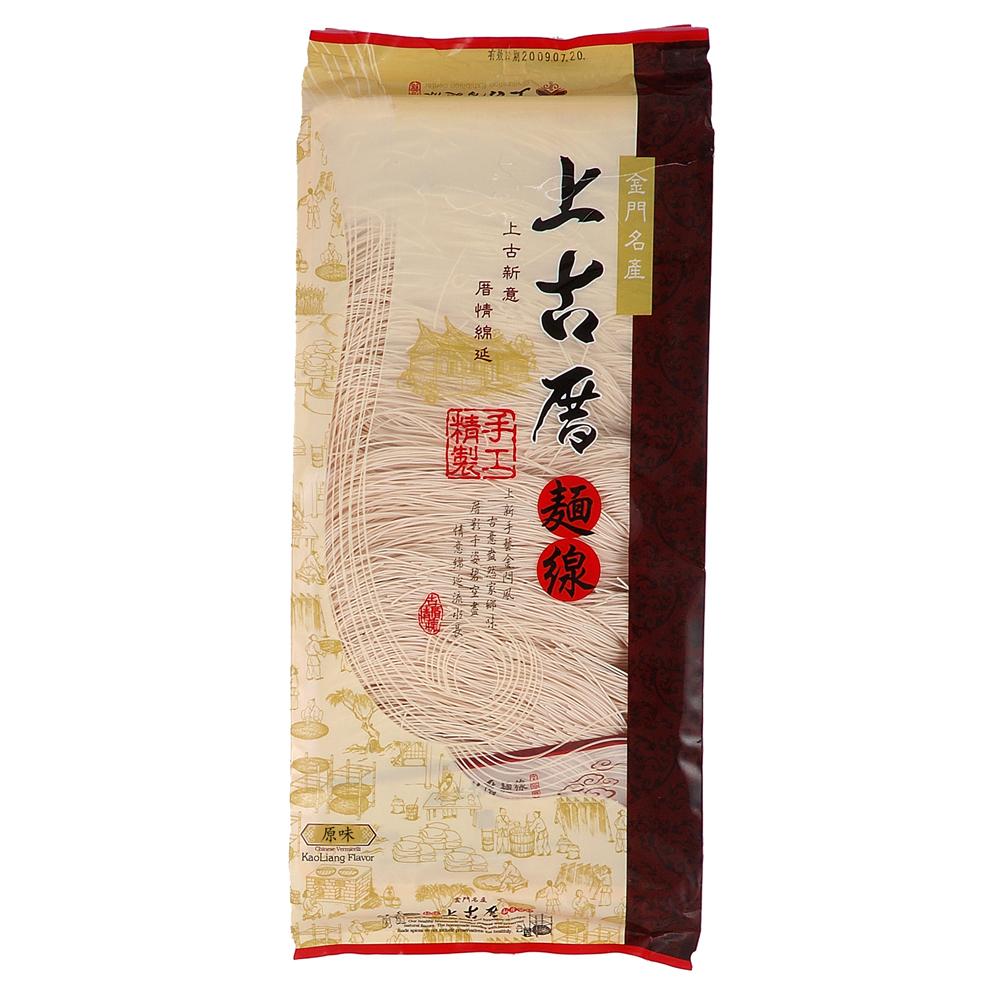 聖祖食品 上古厝手工麵線-原味(400g)