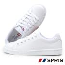 周子瑜TWICEx韓國SPRIS聯名鞋款 TOUCH 皮質系列-白