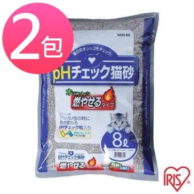 IRIS健康檢查豆腐砂 KCM-80 8L (兩包組)