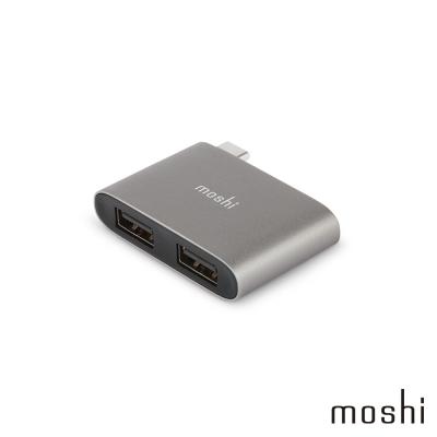 Moshi USB-C to USB-A 雙端口轉接器