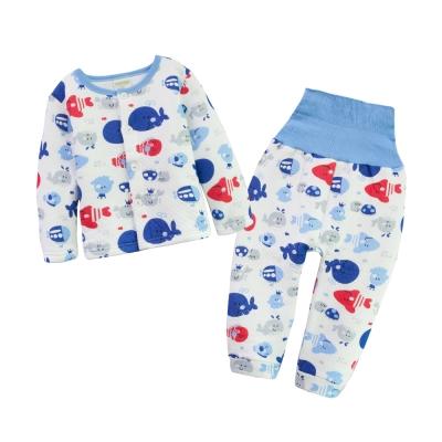 baby童衣-卡通加厚空氣棉護肚居家服套裝