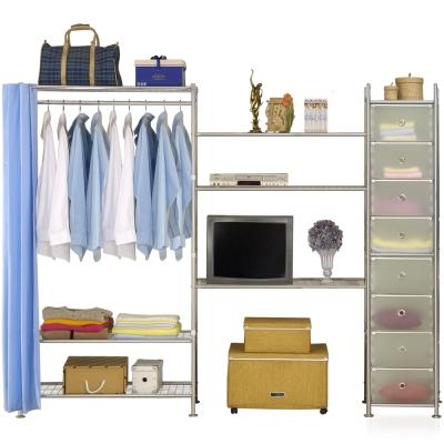 巴塞隆納─W3型90+90+D電視衣櫥置物櫃