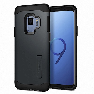 Spigen Galaxy S9 Case Slim Armor複合式立架防震保護殼
