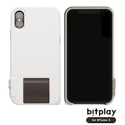 bitplay SNAP!X iPhoneX(5.8吋)專用一秒變單眼耐衝擊相機殼 經典白