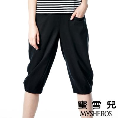 蜜雪兒mysheros-天絲棉鬆緊腰身造型褲